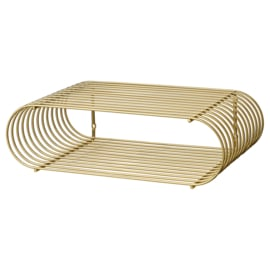 Curva shelf, gold