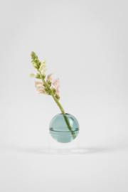 Flower Bubble staand 5 cm, cyaan