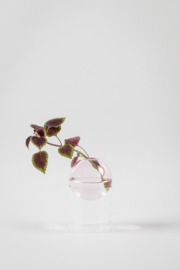 Flower Bubble staand 8 cm, pink