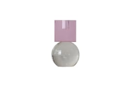 Crystal Color Crush kandelaar Couple, pink/clear