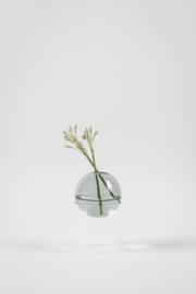Flower Bubble staand 8cm, cyaan