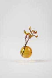 Flower Bubble staand 5 cm, amber