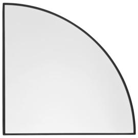 Unity spiegel 1/4, black