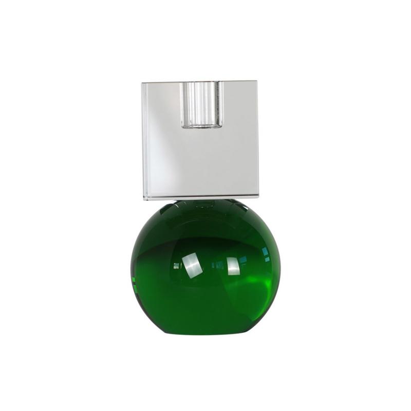 Crystal Color Crush kandelaar Couple, clear/green