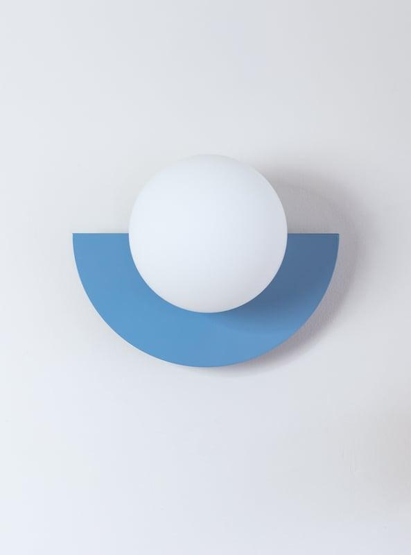 C.Lamp big, Scandi heaven blue