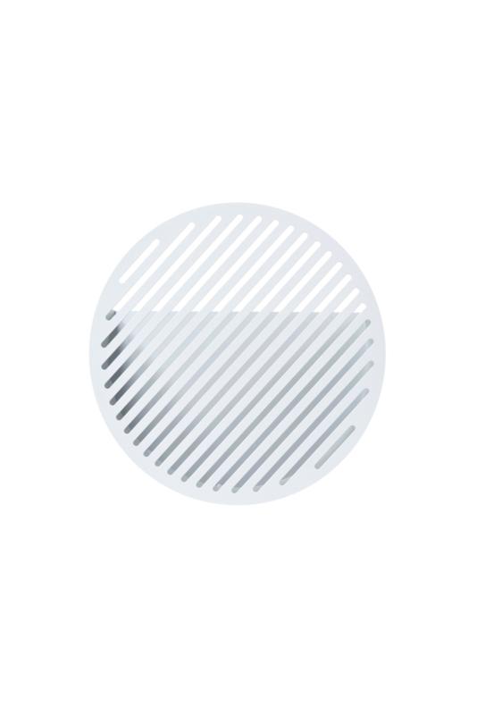 Diagonal wandbasket, medium