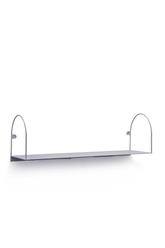 Bow shelf, large/grey