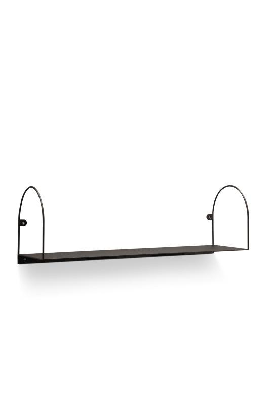 Bow shelf, large/black