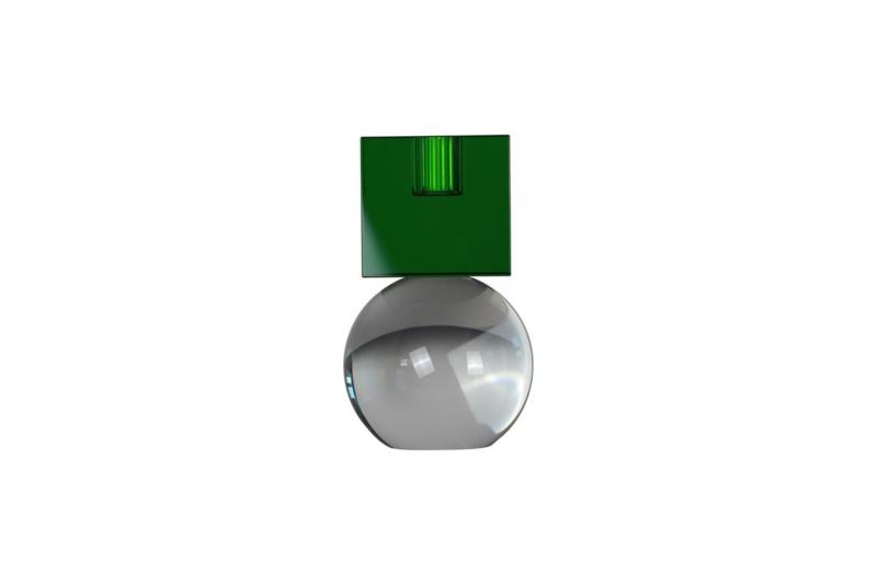 Crystal Color Crush kandelaar Couple, green/clear