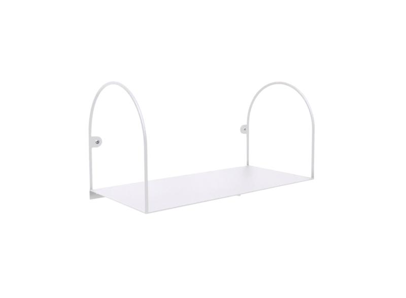 Bow shelf, small/white