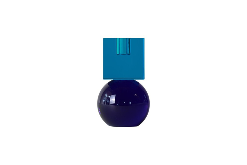 Crystal Color Crush kandelaar Couple, turquoise/blue
