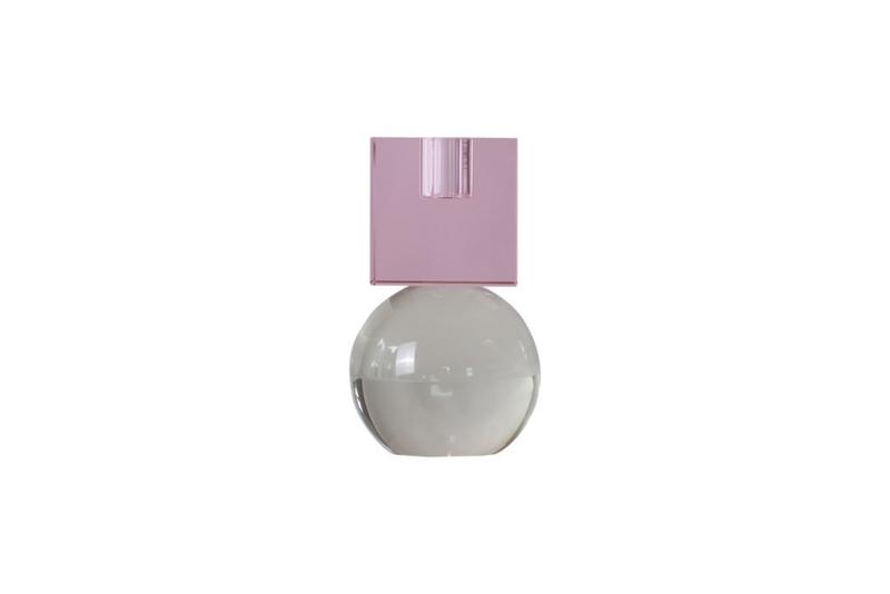 Crystal Color Crush kandelaar Couple, pink/clear