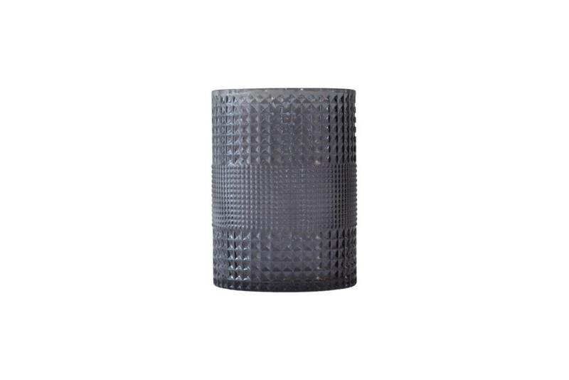 Roaring vaas cilinder, grey