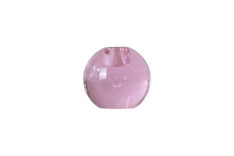 Crystal Color Crush kandelaar Single, pink