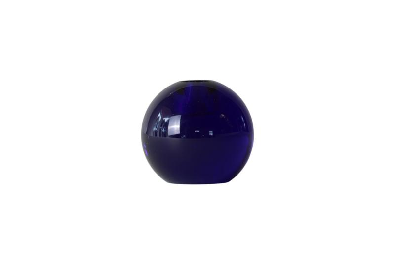 Crystal Color Crush kandelaar Single, dark blue