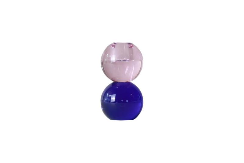 Crystal Color Crush kandelaar Twin, pink/blue