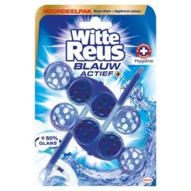Witte Reus Blauw actief hygiene 2 stuks