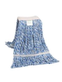 Strengemop blauw met band 350 gram