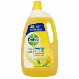 Dettol Power & Fresh Allesreiniger Citroen & Limoen 4 Liter