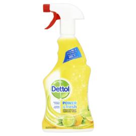 Dettol Power & Fresh Allesreiniger Spray Citroen & Limoen 500ml