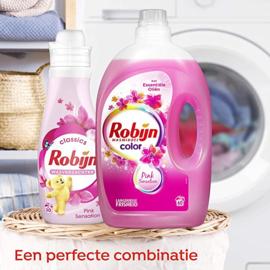 Robijn Color Pink Sensation Vloeibaar 3L - Wasmiddel - 60 wasbeurten