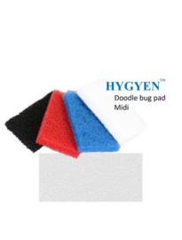 HYGYEN Doodlebug Pad Voor Midi Padhouder,  9,5 x 15,5cm Wit