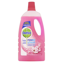 Dettol Power & Fresh Allesreiniger Kersenbloesem 1 Liter