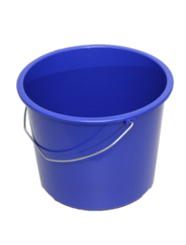 Emmer Standaard 12 ltr. Blauw