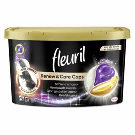 Fleuril Renew & Care Caps Black 12 wasbeurten