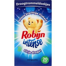 Robijn Intense Morgenfris Droogtrommeldoekjes 20 stuks