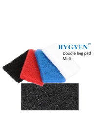 HYGYEN Doodlebug Pad Voor Midi Padhouder,  9,5 x 15,5cm Zwart