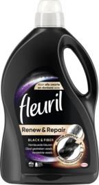 Fleuril Renew & Black & Fiber 45 Wasbeurten 2,7l