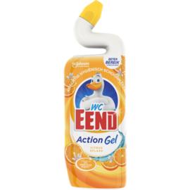 Wc Eend Toiletreiniger Action Gel Citrus Slash 750ml
