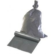 Huisvuil afvalzakken 60 x 80 T50 grijs