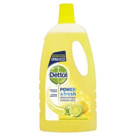 Dettol Power & Fresh Allesreiniger Citroen & Limoen 1 Liter