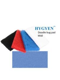 HYGYEN Doodlebug Pad Voor Midi Padhouder,  9,5 x 15,5cm Blauw