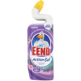 Wc Eend Toiletreiniger Action Gel Lavender Bloom 750ml