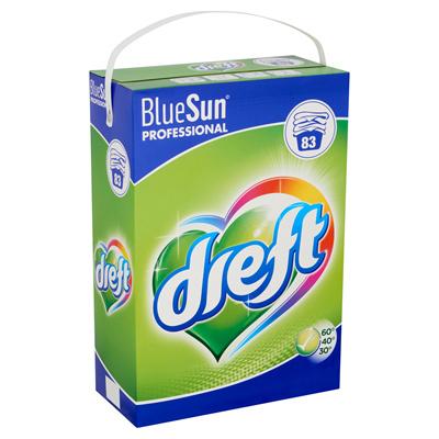 Dreft BlueSun Professional Waspoeder 5,810 kg 83 wasbeurten