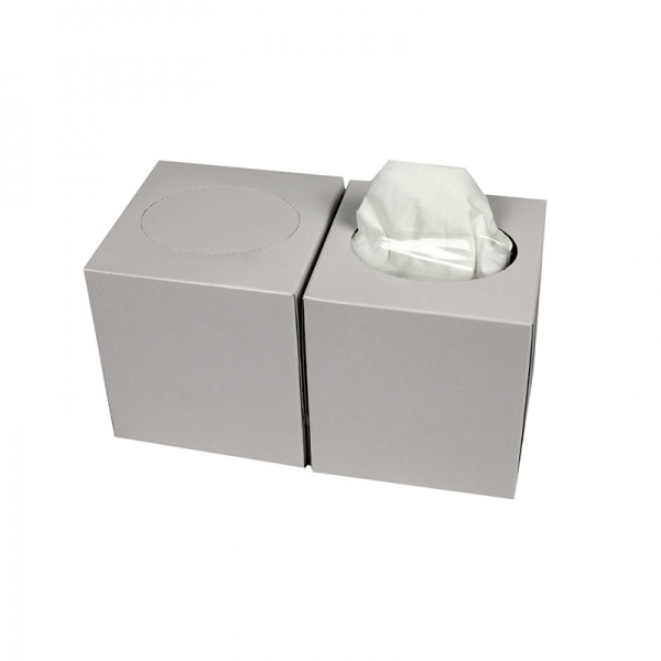 Facial Tissue Cube celluose 2 lgs