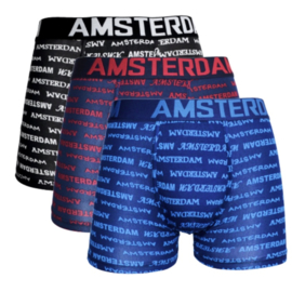 Grandman Heren Boxers Katoen 5042 AMSTERDAM