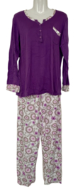 Fine woman Dames Pyjama 2309 paars