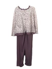 Fine woman Dames Pyjama 2208 zalm