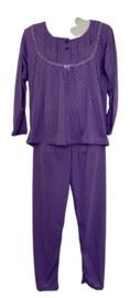 Fine woman Dames Pyjama 2288 paars
