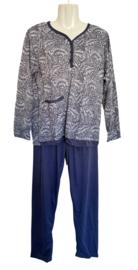 Fine woman Dames Pyjama 2217 lila
