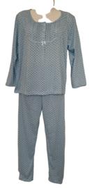 Fine woman Dames Pyjama 2288 blauw