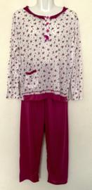 Fine woman Dames Pyjama 2281 fushia