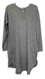 Fine woman Dames Nachthemd 6918 grijs-paars