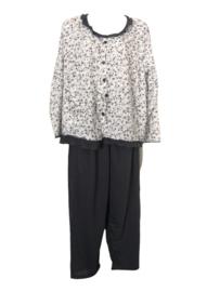Fine woman Dames Pyjama 2208 grijs UITVERKOOP