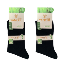 YANOIR Bamboe sokken 3-pack