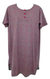 Fine woman Dames Nachthemd 6606 roze